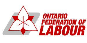 Yusuf talks at the Ontario Federation of Labour's Human Rights Strategic Session