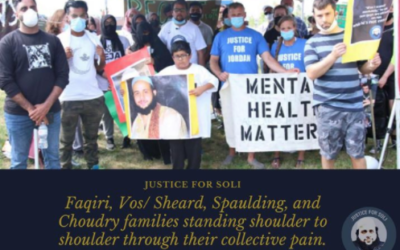 Yusuf Speaks At Toronto South Detention Centre Rally