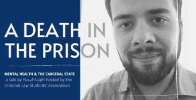 A Death In Prison UFT law school