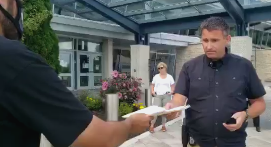 Yusuf Delivers Statements to the OPP Commissioner