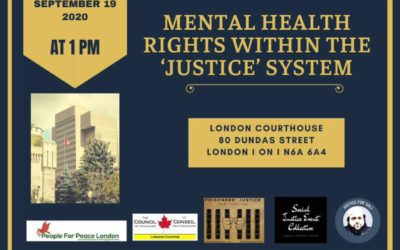 Rally for Mental Health Rights within the Justice System